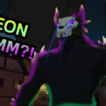 Neon Grimm Terrifying and Bedazzling Locals?!